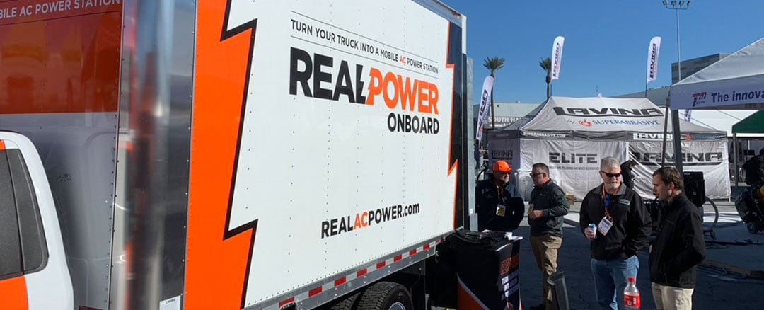 Real Power Debuts Secure Truck Feature at World of Concrete 2020