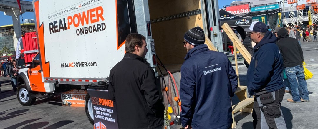Real Power Makes a Huge Splash at World of Concrete 2020
